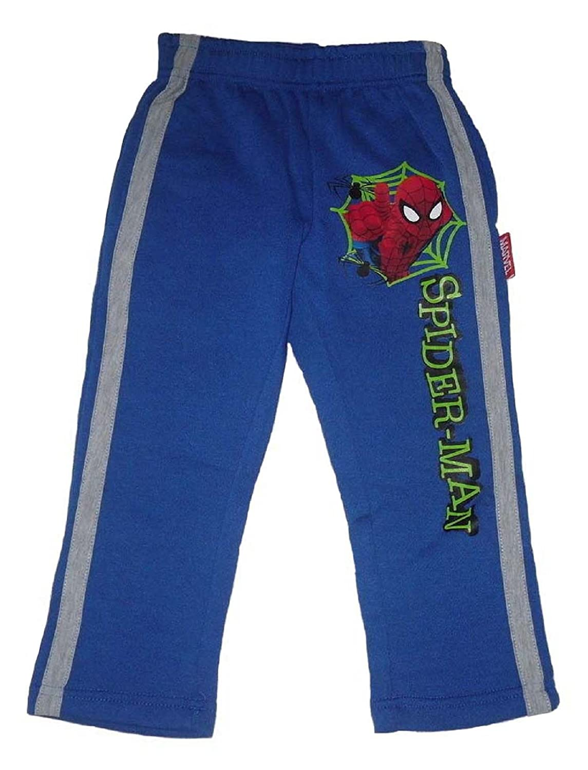 Boys Jogging Bottoms Spiderman 2-8 Years Blue Or Grey
