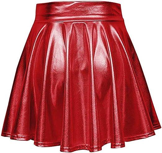 JSPOYOU Women Skirt Shorts Womens Denim Mini Skirt Womens Skirt