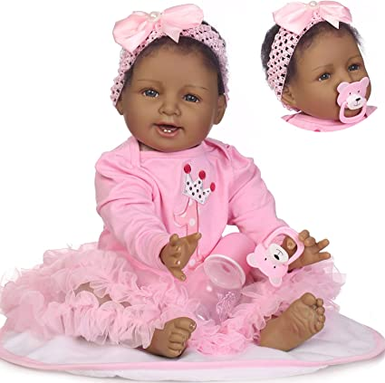 Realistic Looking 55cm Reborn Baby Doll Toddler Soft Silicone Vinyl Dolls Babies