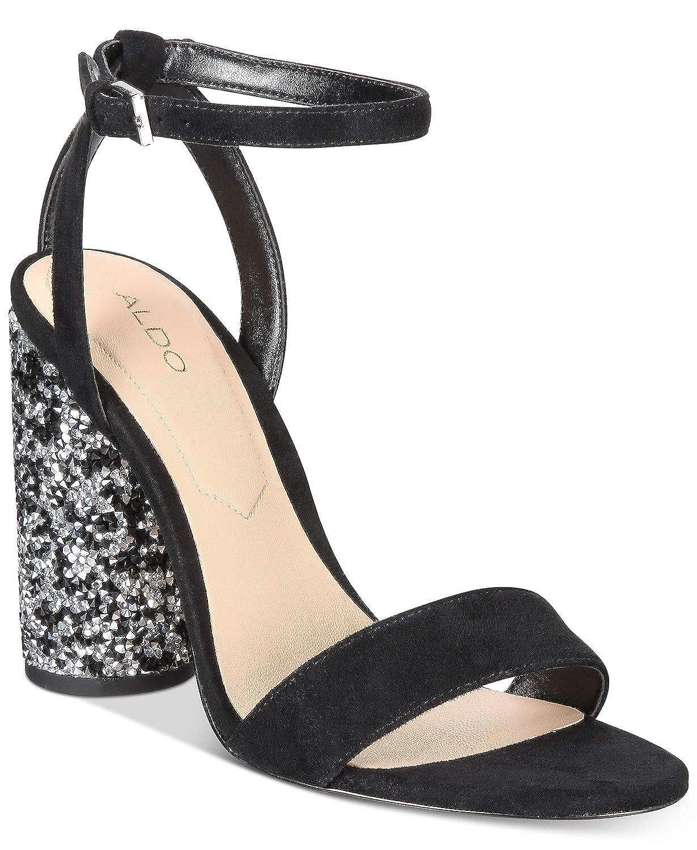 1bbdb6b02090 Amazon.com | Aldo. Rossena Cylinder Heel Dress Sandals Black 9 M US | Heeled  Sandals
