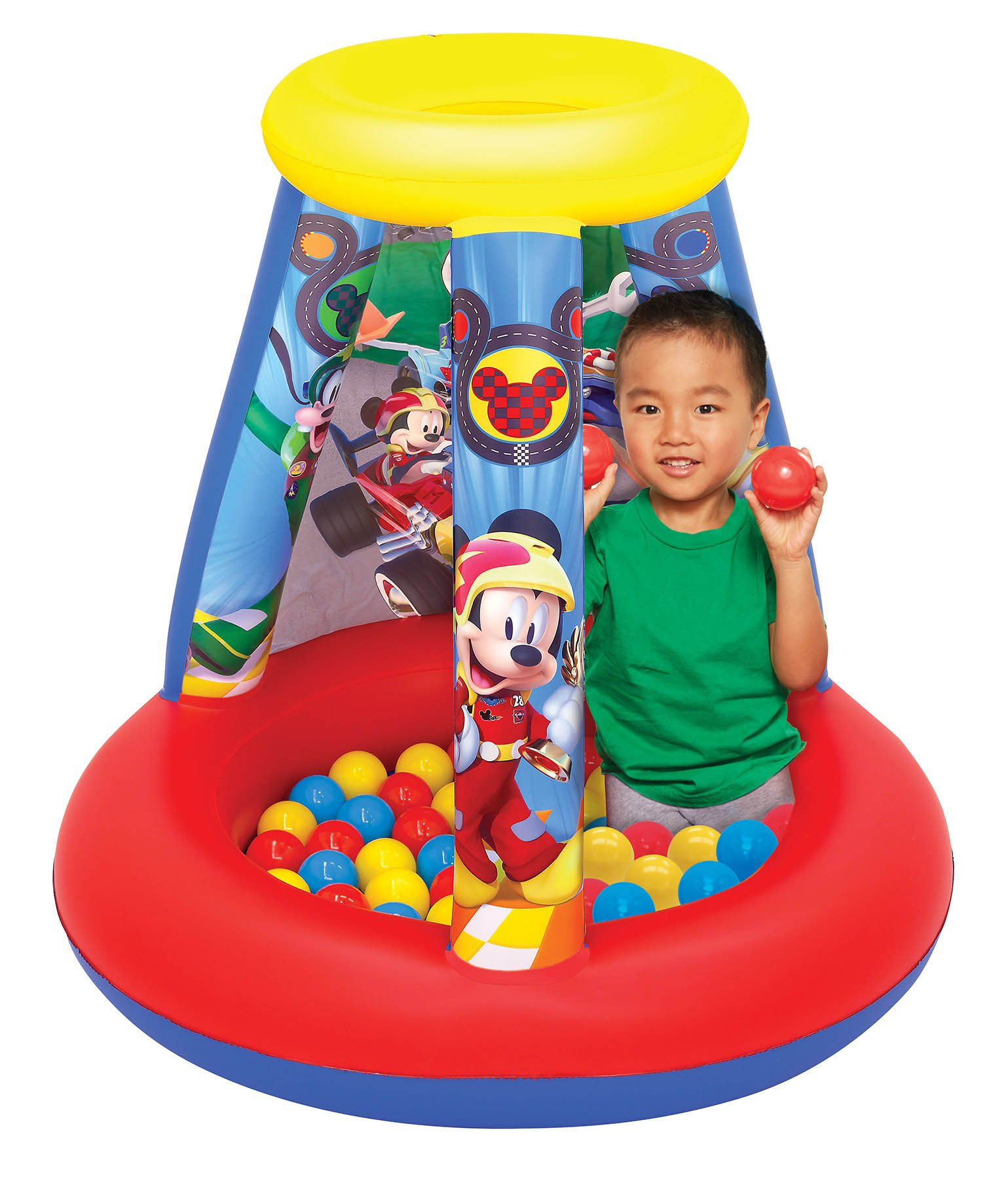 Mickey and The Roadster Racers Ball Pit Playland with 15 Balls Playset