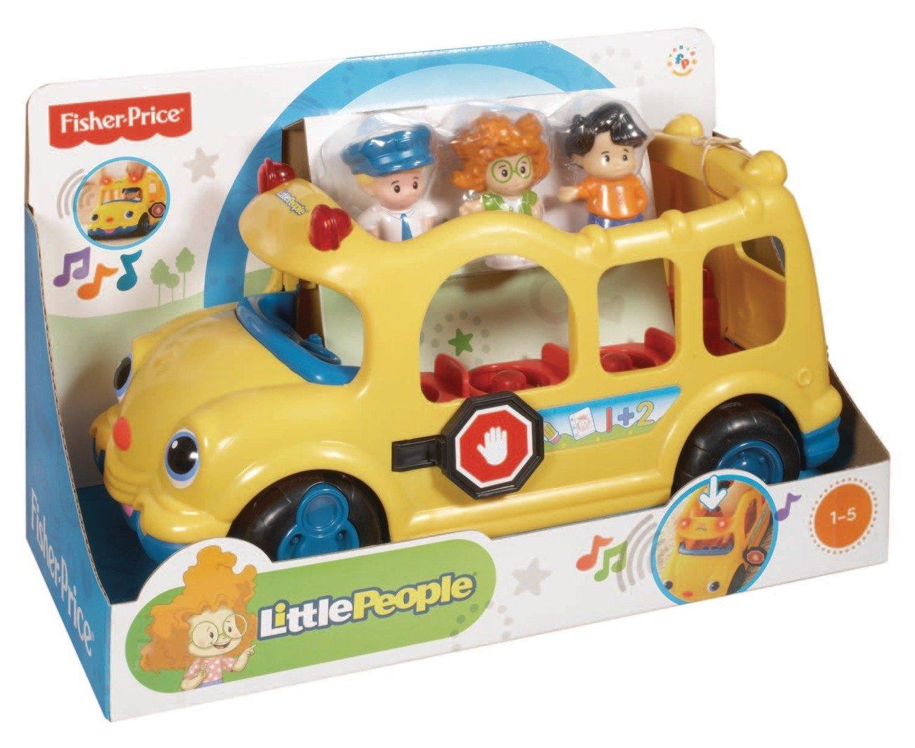 Fisher-Price Mattel J0894 Little people School Bus: Amazon.co.uk ...