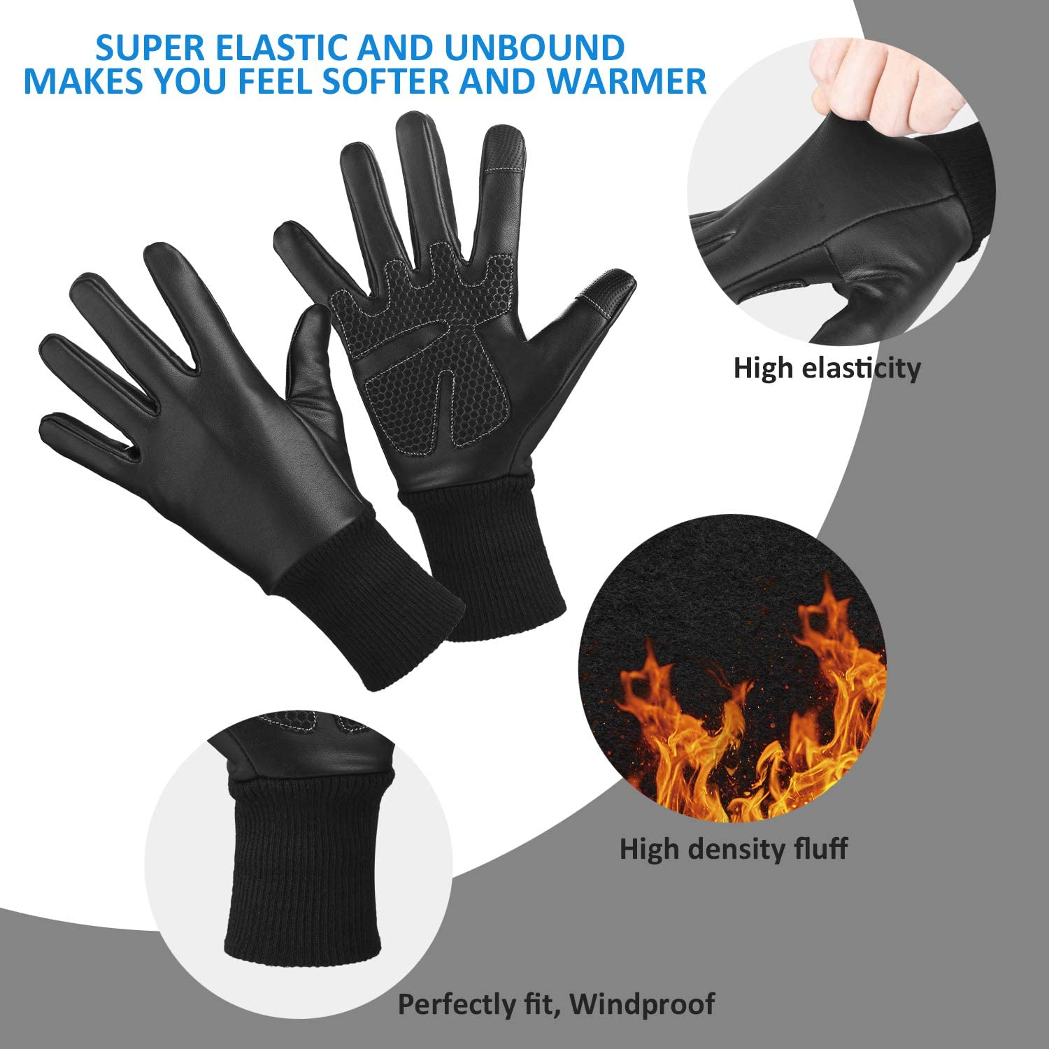 Winter Outdoor Windproof Thermal Work Running D Giwil Waterproof Cycling Gloves