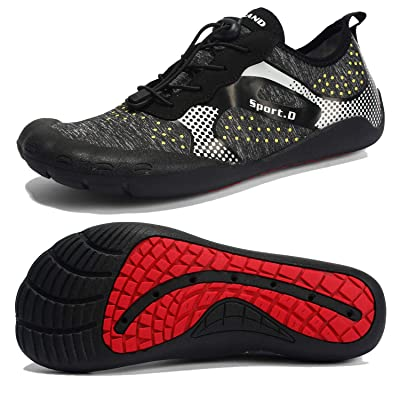 Maniamixx Mens Womens Trail Running Barefoot Shoes Hiking Quick Drying Water Shoes