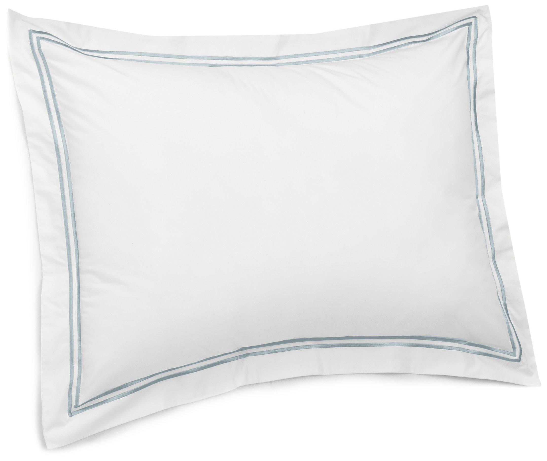 Light Aqua Calla Angel E6-UBOU-XBZ2 Sage Garden Luxury Pure Cotton Quilted Pillow Sham Euro