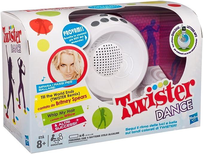 Amazon.es: Hasbro Twister Dance - Juego de Baile (en Italiano) [Importado de Italia]