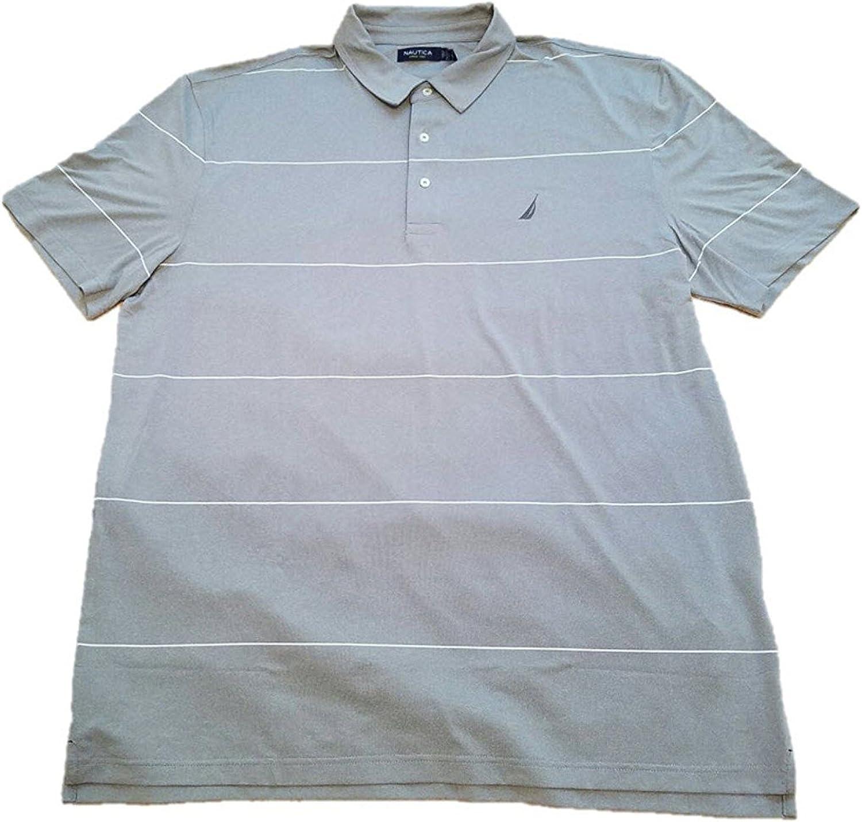 Nautica para Hombre Rendimiento Golf Polo SS Camiseta: Amazon.es ...