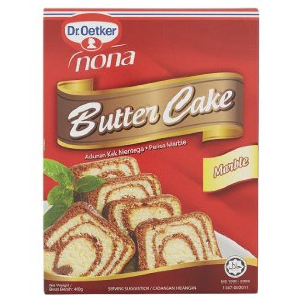 Nona Marble Butter Cake Flour 400g (628MART) (1 Pack)