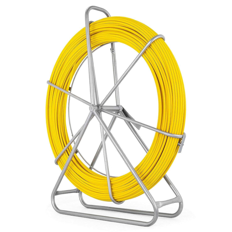 Details about  /10M//20M//30M 3mm Fiberglass Cable Puller Fish Tape Reel Conduit Ducting Rodder
