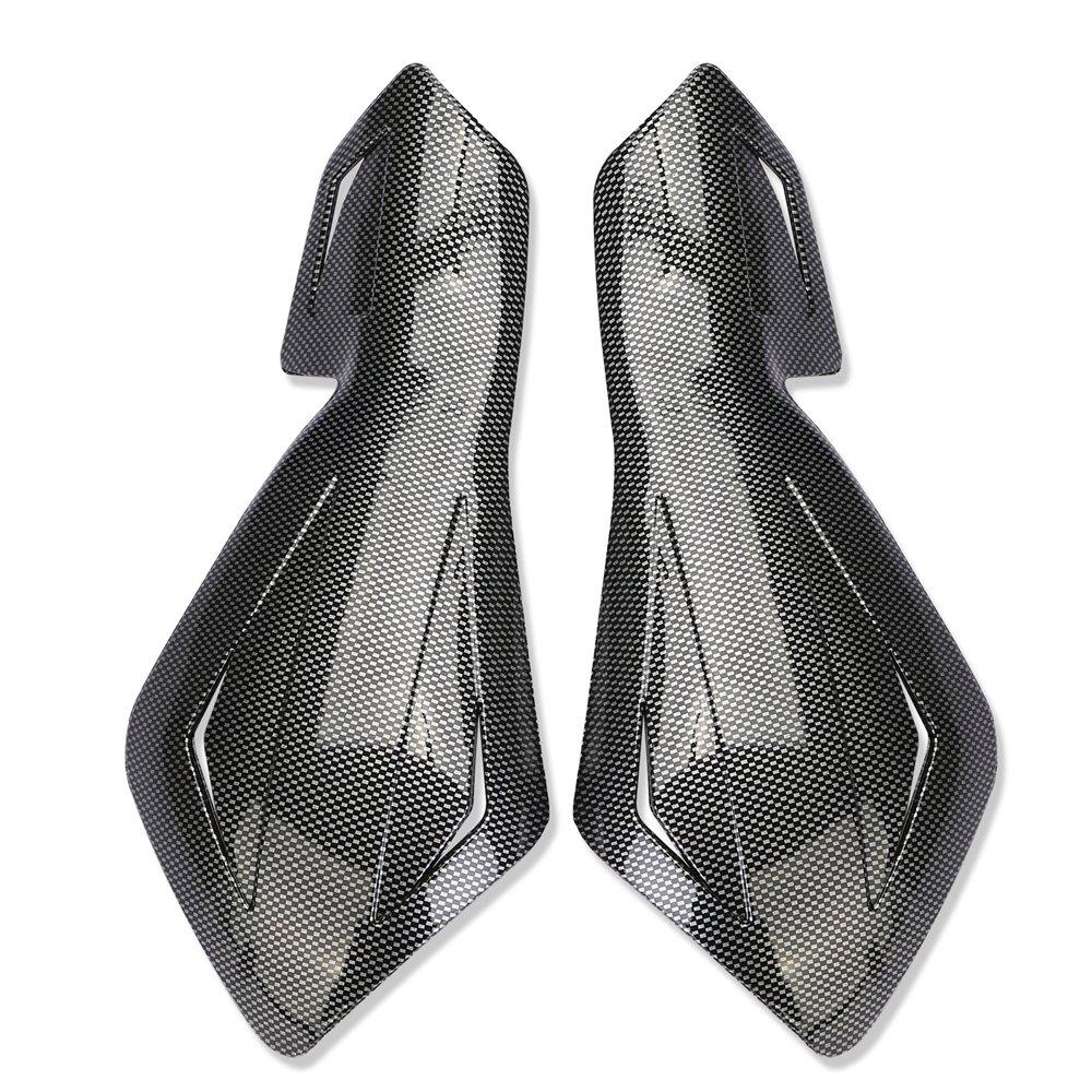 Eclear per motocross supermoto moto da corsa fuoristrada Kit di manopole per manubrio 1 set di paramani per moto
