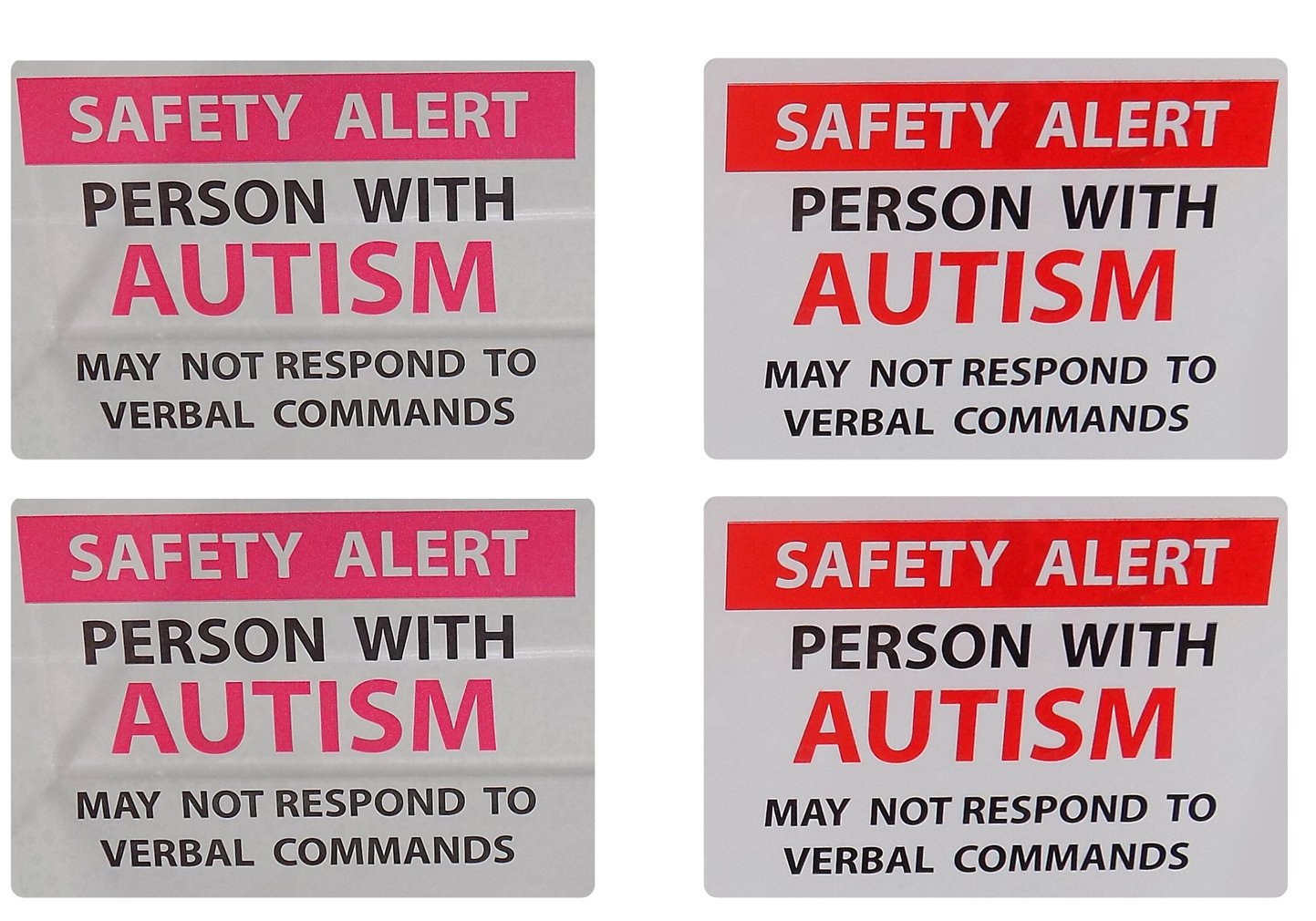79057ddc3dc Autism Safety Alert Window Cling and Decal 4-Pack