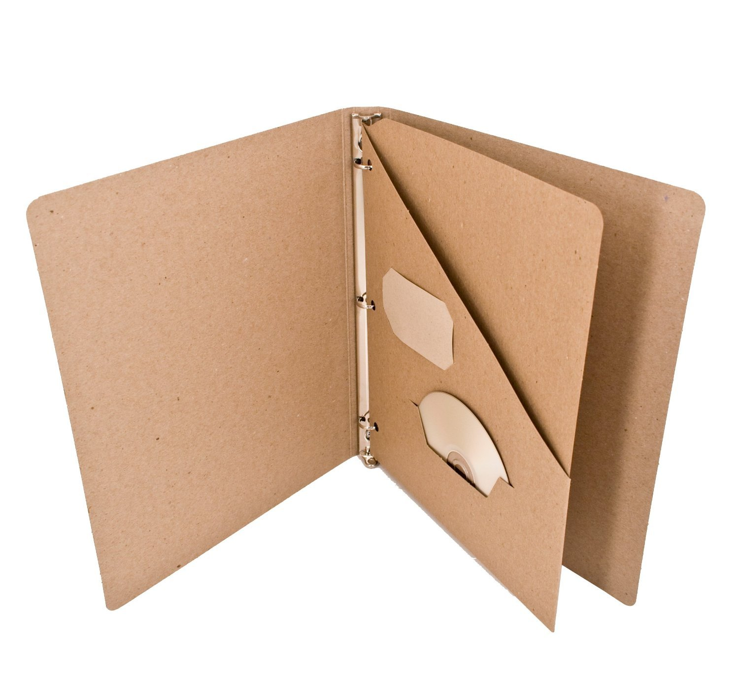Generic File Folder Recycled Divider Pocket Insert