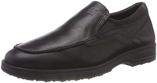 1217433111e 24 HORAS 10421, Mocasines para Hombre, (Negro 7), 43 EU: Amazon.es: Zapatos  y complementos