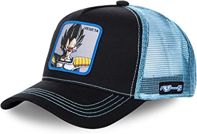 Collabs Gorra Dragon Ball Z Vegeta Trucker Negro OSFA (Talla única para Todos sexos): Amazon.es: Ropa y accesorios