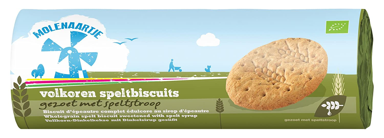 Molenaartje Galletas de Espelta Integral - Paquete de 12 x 200 gr - Total: 2400 gr: Amazon.es: Alimentación y bebidas