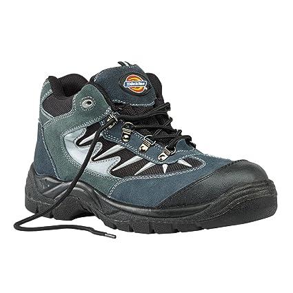 Dickies Botas de Storm – Zapatillas de seguridad gris/negro tamaño 11