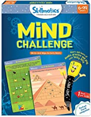 Skillmatics Educational Game: Mind Challenge (6-99 Years) | Erasable and Reusable Activity Mats | Travel Toy with Dry Erase