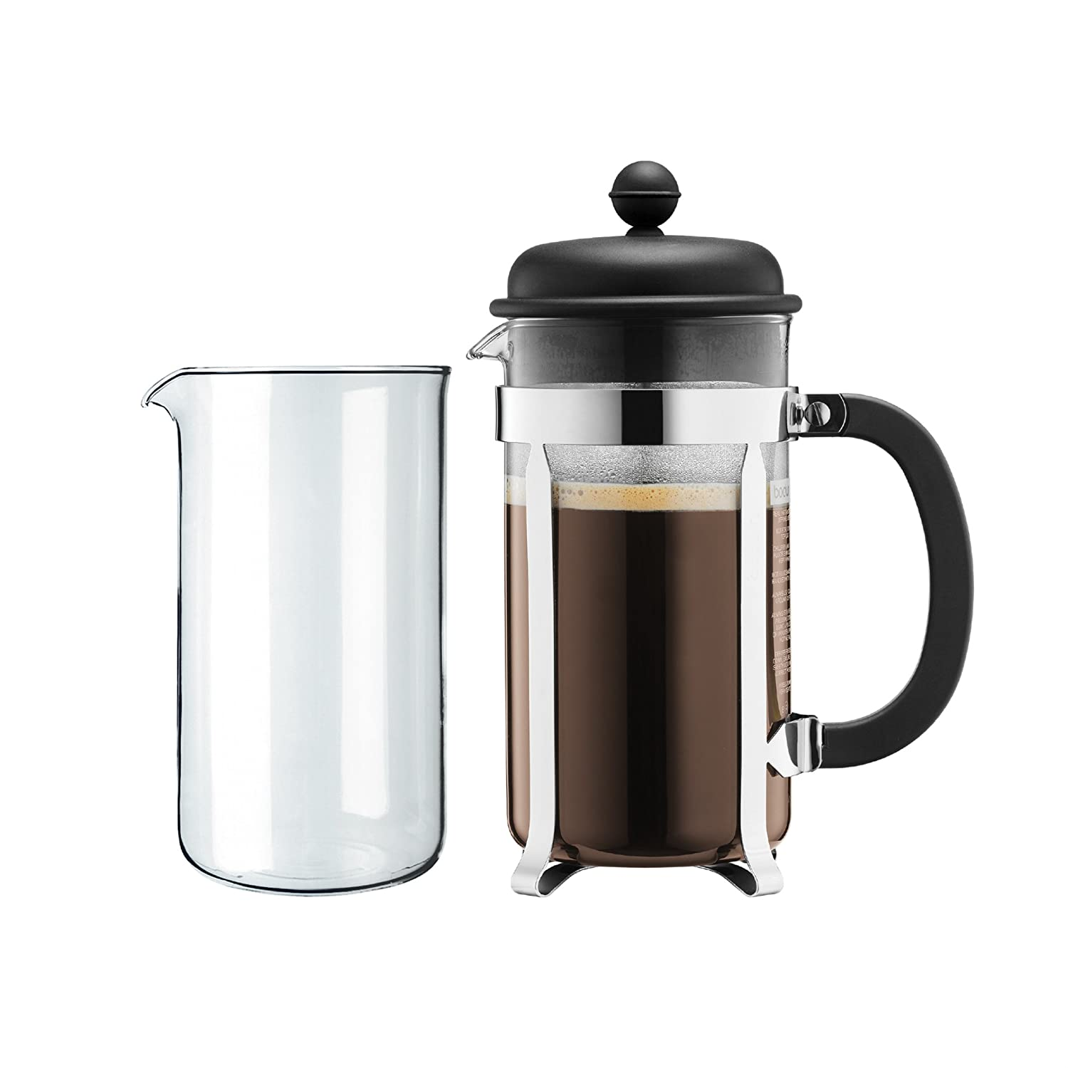 Caffettiera Set Coffee Maker, 8 Cup, 1.0 L, 34 Oz And Spare Beaker, BODUM K1918-01-1