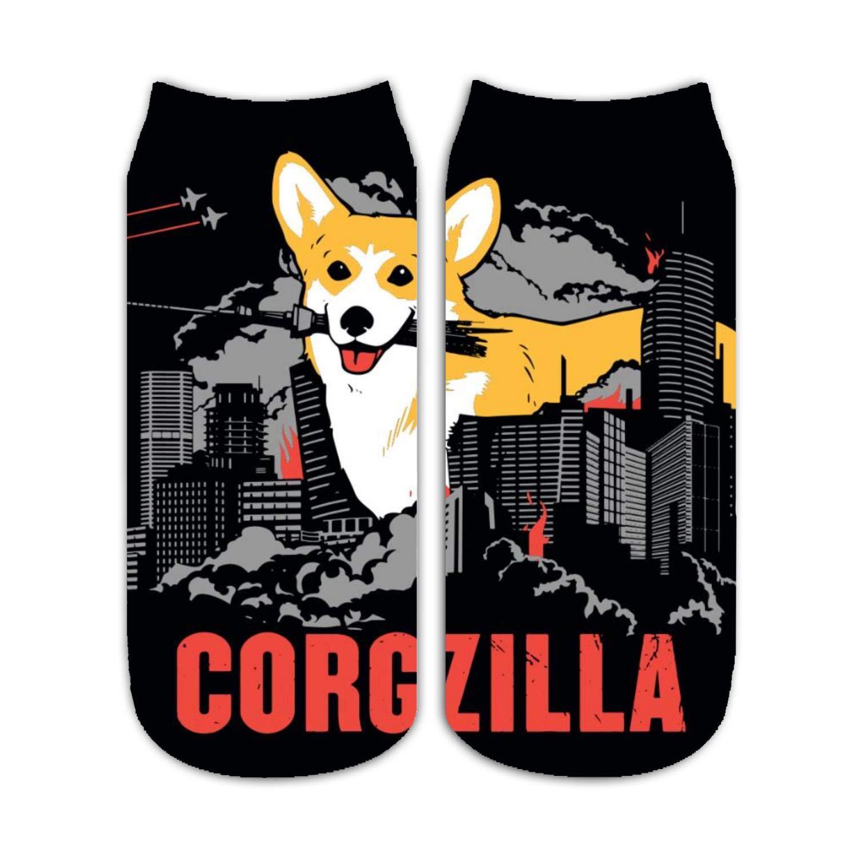 Women Men Boys Girl Sport Short Sock Sox Cactus and Cat Low Cut Toe Stockings VTSRLGWC
