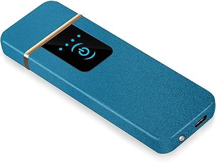 RiverMolars Y08 Encendedor Eléctrico, Mechero Recargable USB ...