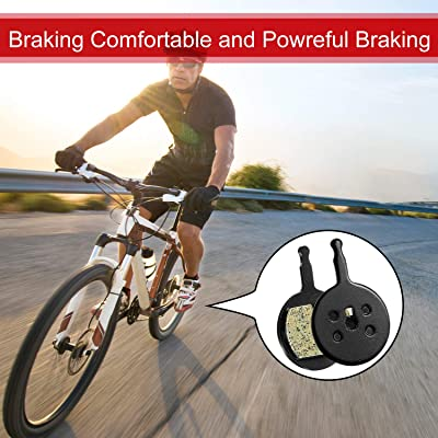 Disc Brake Pads To Fit AVID BB5 Promax DSK 710 DSK 720 MTB XC Bike One Pair