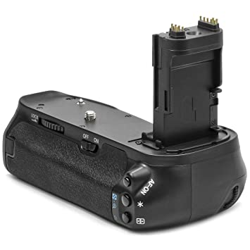 75838191b13e14 Meike Pro Battery Grip for Canon EOS 6D Replaces BG-E13  Amazon.co ...
