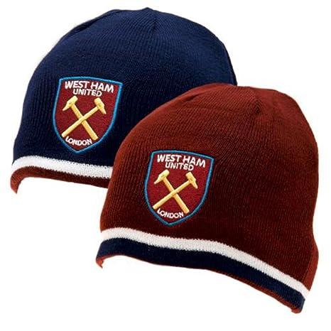 19310a00246 Amazon.com   West Ham United FC - Authentic EPL Reversible Knit Hat    Sports   Outdoors