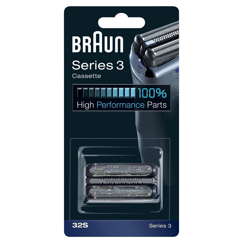 Braun 32S Replacement Foil Multi Silver BLS Cassette HealthCentre 072881