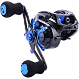 Sougayilang Baitcasting Reel, 7.0:1 Gear Ratio Super Smooth Power, 9 + 1 Shielded Ball Bearings Anti-Corrosion…