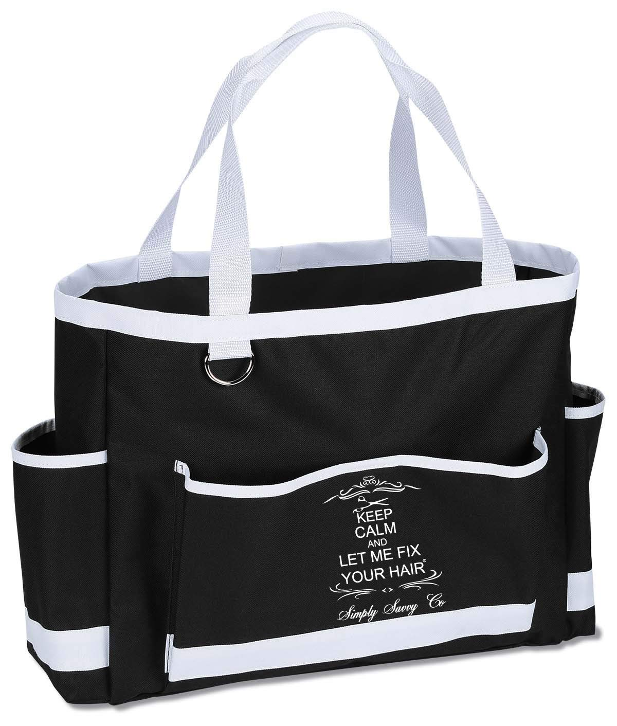 Simply Savvy Co USA Hairstylist Hair Work Tote or Gifts for Hairdressers (CarryAll)