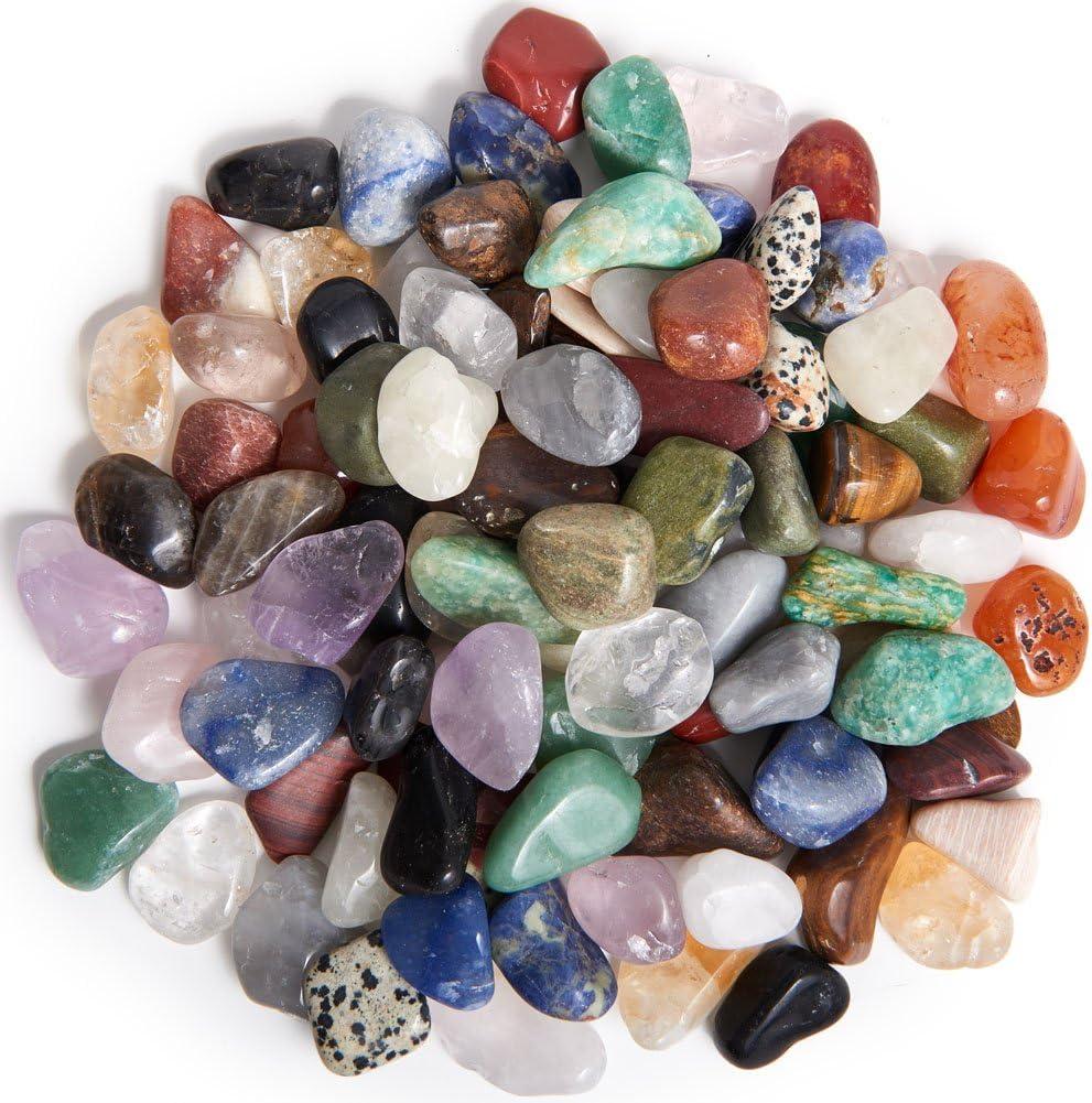 Digging Dolls 5 lbs of Medium Aquamarine A Grade Stones from Brazil Beautiful Tumbled Rocks!