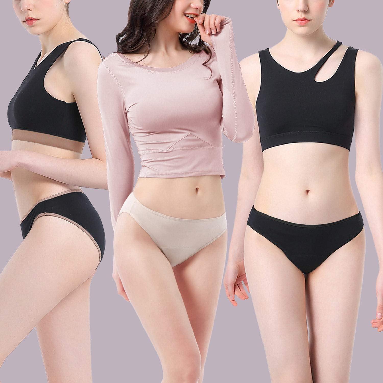 Intimate Portal Femme Culottes /Échancr/ée pour R/ègles Slips Menstruelles