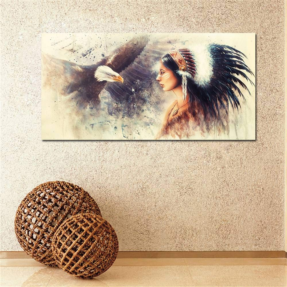 BFY Modern Abstract Huge Wall Art Oil Painting On Canvas Indian Unframed Room Deco
