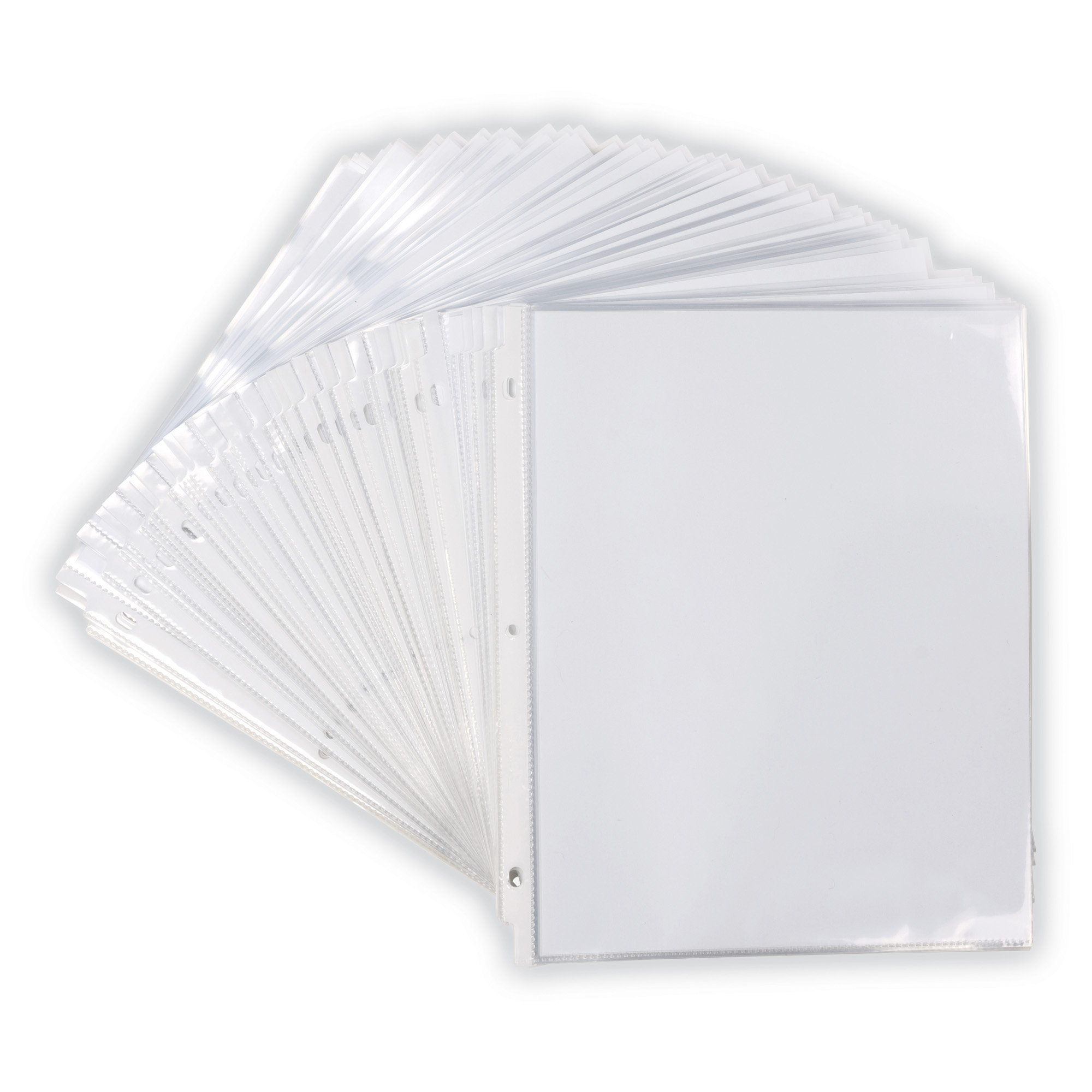 Samsill Heavyweight Clear Sheet Protectors, Box of 200 Plastic Page Protectors, Acid Free/Archival Safe, Top Load 8.5 x 11 inches by Samsill (Image #5)