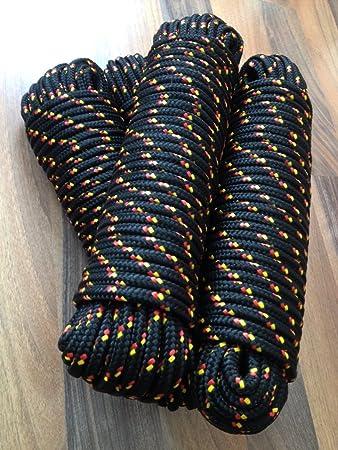 30 m,Schleppseil,Schleppleine,Vielzweckseil,Bootsseil Nr.6 Rote Schnur 16 mm