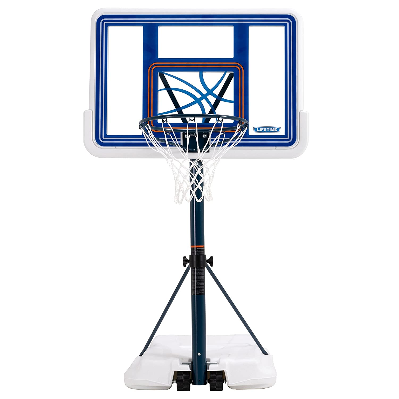Lifetime プールサイドバスケットボールシステム ホワイトフュージョン  B000FW20BU