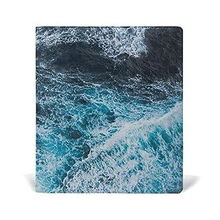 Copertina blu Sea Water Custom jumbo-sized Stretchable MONTOJ
