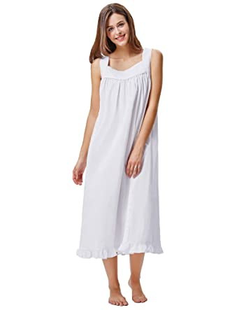5e7cf9923e5 Elegant Maxi Nightdresses Strap Sleepwear House Dress for Pajama Party  KK468-1 XL  Amazon.co.uk  Clothing