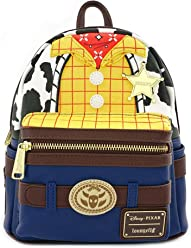 Loungefly x Disney Pixar Toy Story 4 Woody Faux-Leather Mini Backpack