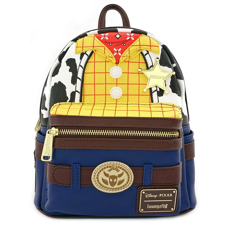 ویکالا · خرید  اصل اورجینال · خرید از آمازون · Loungefly: Toy Story, Woody Cosplay Mini Backpack wekala · ویکالا