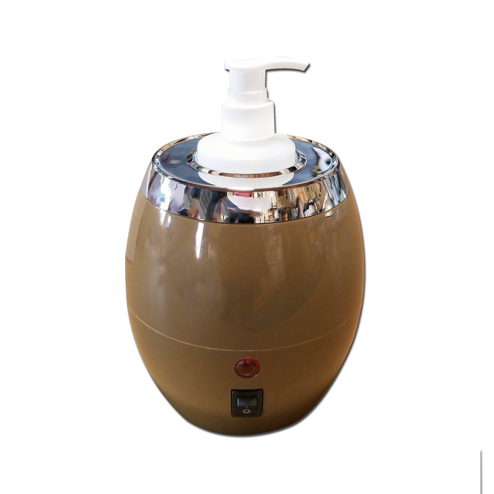 Oil Warmer TOA Single Bottle Pro Massage Heater for Lotion Cream