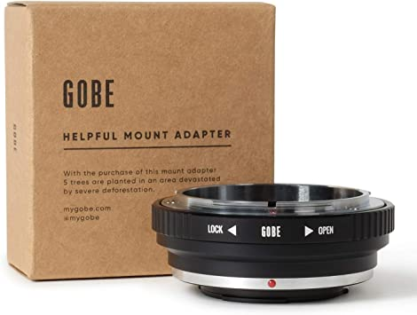 Urth x Gobe Adaptador de Objetivo Compatible con Objetivos M42 y cuerpos de c/ámara Leica L