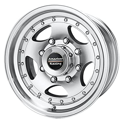 Amazon Com American Racing Series Ar23 Machined Wheel With Clear