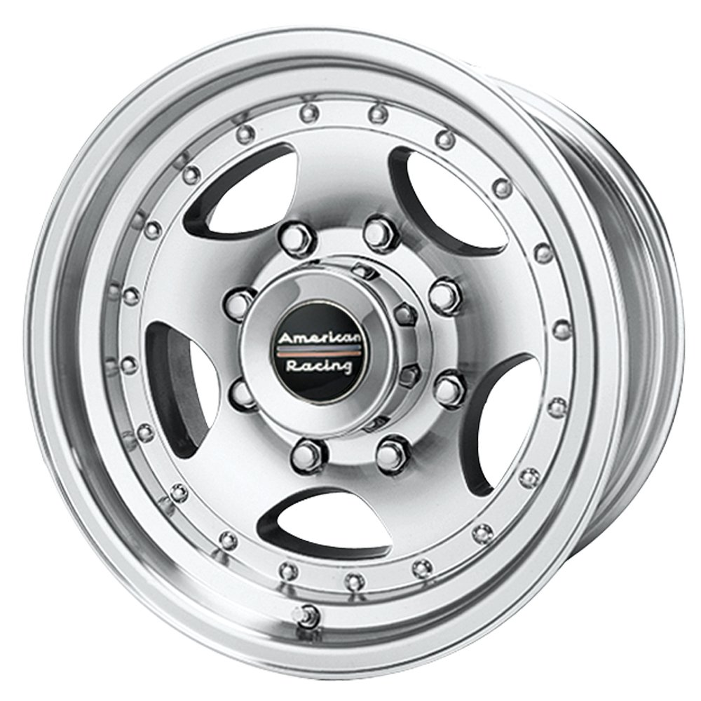 American Racing AR23 Machined Wheel with Clear Coat (16x8''/8x170mm)