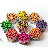 70pcs Smoke Backflow Incense Cones Bullet Hollow Spices 12 Kinds of Fragrance