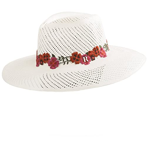 97338b02e2912 RACEU ATELIER Sombrero Panamá Portofino - Sombrero Mujer Hombre Unisex -  Tejido a Mano - Cuenca