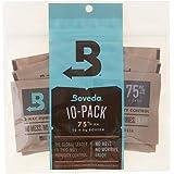Boveda Humidipak 8 Gram (Medium) 10 Pack 2-way Humidity Control 75% RH