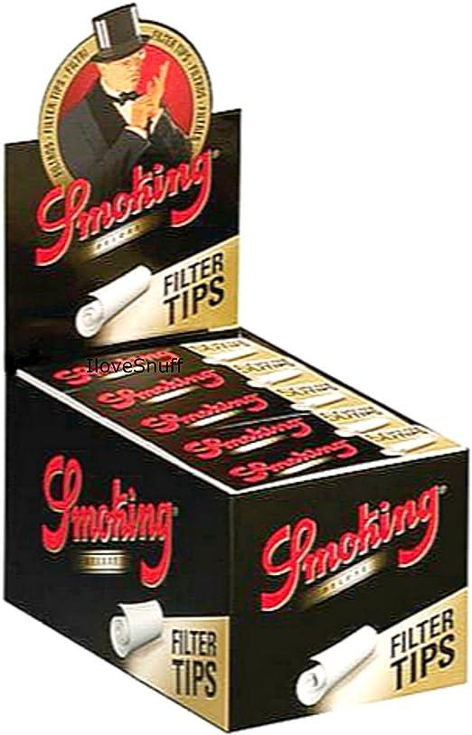 Smoking - 1 Caja de Papel de Liar de Fumar de tamaño Mediano con 50 filtros Cada uno de 25 x 50: Amazon.es: Hogar