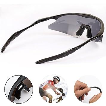 lsqtronics Hombres y las mujeres colorido deporte gafas de ...