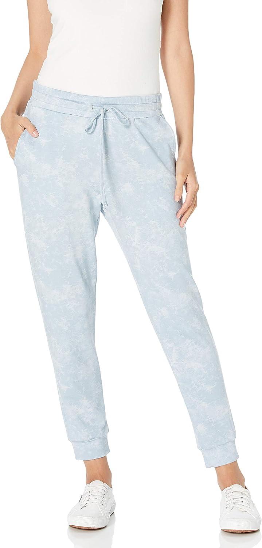 아마존 브랜드 - 매일 의식 여성의 넥타이 염료 조거 바지
